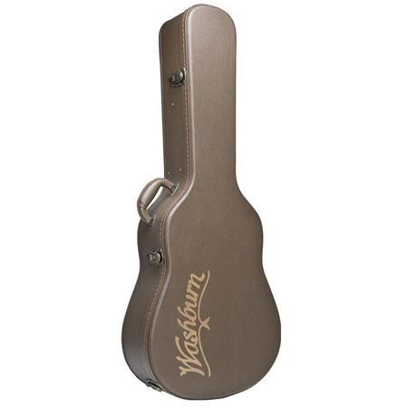 washburn gcmjdlx mini jumbo acoustic guitar deluxe hard case gcmjdlx. Black Bedroom Furniture Sets. Home Design Ideas