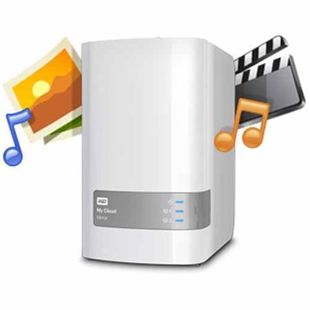 WD My Cloud Mirror Gen 2 8TB (2x4TB) 2 Bay External Hard Drive
