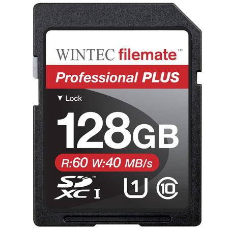 Wintec Industries 128GB Class 10 SDXC: Picture 1 regular