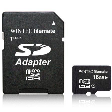 Wintec Industries 16GB Class 4 microSDHC: Picture 1 regular
