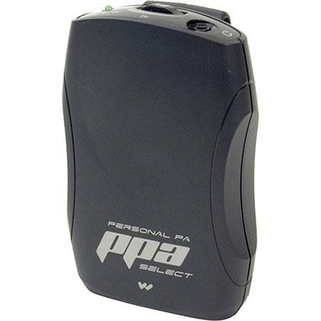 AA /& EARPHONES PPA R37 WILLIAMS RECEIVER-FM SELECTABLE CHANNEL W//BELT CLIP, 2