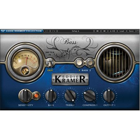 Waves Eddie Kramer Bass Channel Plug-In, Native/SoundGrid, Download