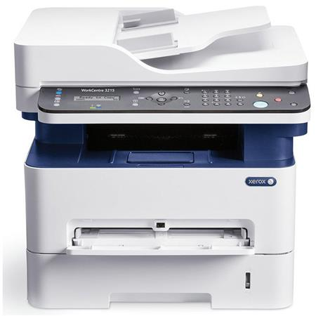 Xerox WorkCentre 3215 Monochrome Multifunction Manual Duplex Printer,  27ppm, 4800x600 dpi, 250 Sheet Input Tray - Print, Copy, Scan, Fax, Email
