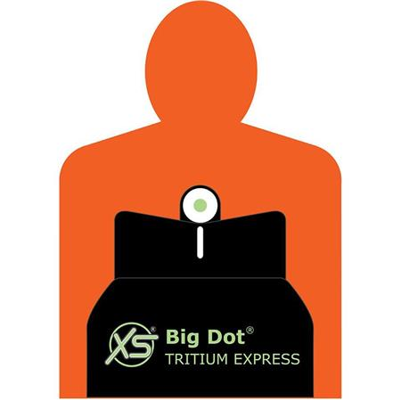 XS Sights Big Dot Tritium Express Sight Set for North American Arms  Guardian Handgun, Includes Tritium Front / White Stripe Rear Sights