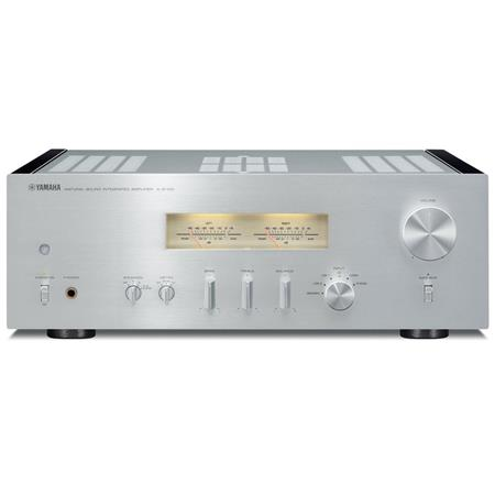 Yamaha A-S1100 Integrated Amplifier and Receiver, Silver/Piano Black