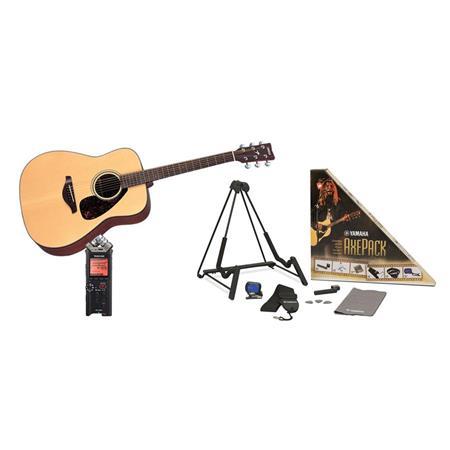Yamaha 6-String Folk Acoustic Guitar Bundle