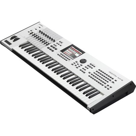 Yamaha MOTIF XF6 WH 61-Key Music Production Synthesizer, 40th Anniversary  Special Edition, White