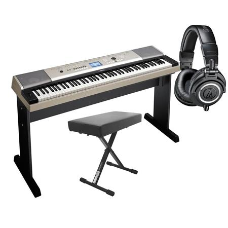 Yamaha ypg 535 88 keys portable grand keyboard with for Yamaha ypg 535 88 key portable grand keyboard