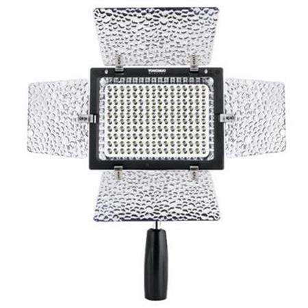 Camera Accessories HA YONGNUO YN-160 II LED Video Light with Luminance Remote Control for Canon Nikon DSLR Camera