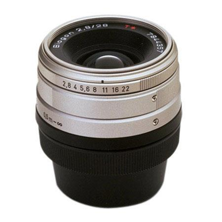 Used Contax Carl Zeiss Biogon T* 28mm f/2 8 Wide Angle Auto Focus Lens for  G-Series Cameras E