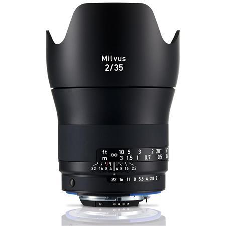 Zeiss 35mm f/2 Milvus ZF 2 Lens for Nikon F Mount DSLR Cameras
