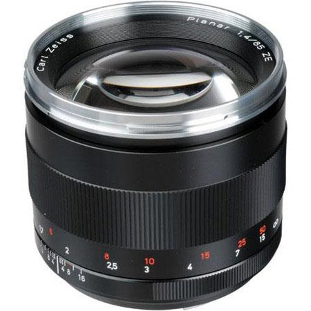 zeiss 85mm f 1 4 planar t ze manual focus lens for canon eos rh adorama com Canon 300Mm Zoom Lens Canon Zoom Lens