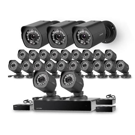 90e7b210973 Zmodo 32-Channel NVR System with 24x 720p HD Camera   3x sPoE ...