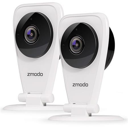 Zmodo EZCam 720p HD WiFi Surveillance IP Camera Two Way Audio