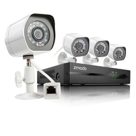 Zmodo 4-Ch. 4-Cam. 720p HD Security System