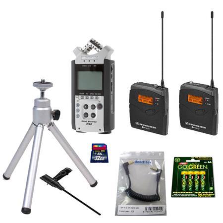 Zoom H4n Handy Mobile 4 Track Recorder With Sennheiser Ew112pg3a