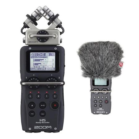Zoom H5 Recorder with Interchangeable Mic System w/Mini