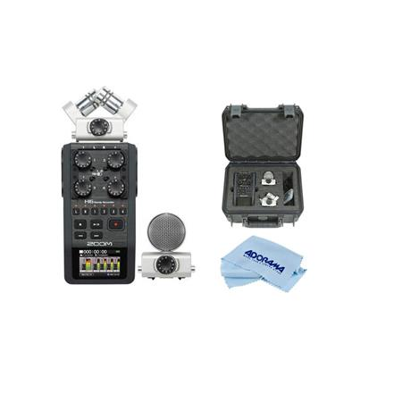 Zoom H6 Handy Recorder With Interchangeable Microphone System W