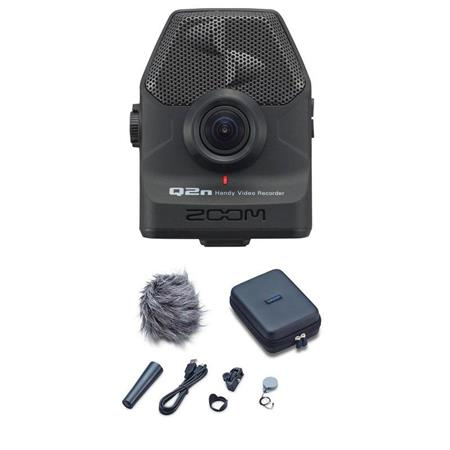 Zoom Q2n Handy Video Recorder - With Zoom APQ-2n Accessory Pack for Q2n  Handy Video Recorder
