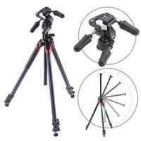 Orbit Aluminum Tripod for DSLR Photo & Video Cameras, 3 S...