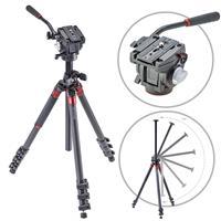 Orbit Carbon Fiber Tripod for DSLR Photo & Video Cameras,...