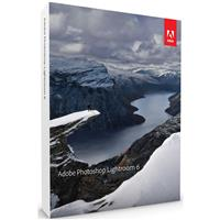 Adobe Photoshop Lightroom 6 Software for Mac/Windows, DVD