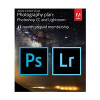 Adobe Creative Cloud Photography Plan, 20GB Storage, 12-M...