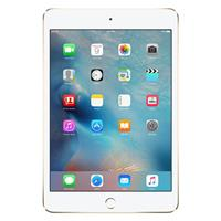 "Apple 7.9"" iPad Mini 4 Wi-Fi + Cell 128GB, Gold"