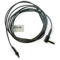 """HDS-92 Cord Straight with 1/8"""" 90 Degrees (3.5mm) Mini Plug"""