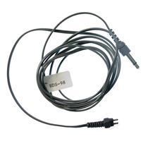 "HDS-98 5' ""D"" Straight Mono Cord with 1/8"" Mini Plug, Gray"