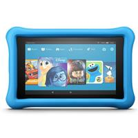 AMAZOn Fire 7 Kids Edition Tablet with Blue Kid-Proof Cas...