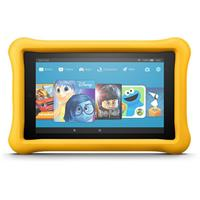 AMAZOn Fire 7 Kids Edition Tablet with Yellow Kid-Proof C...