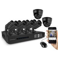 3TB 16-Channel 720p HD Tribrid HDVCI DVR Security System ...