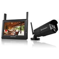 WLD895 4-Channel 720p Wireless Video Surveillance System,...