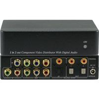 ANI-1X2COMPDA 1x2 Component Video (RCA) Splitter Distribu...