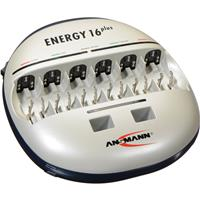 Ansmann Energy 16 Plus Rapid Charger for 1-12 AAA, AA, 1-...