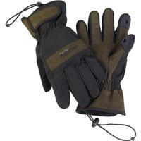 "Aquatech Sensory Gloves, Size: Small, 6-6.5"" - Black/Moss"