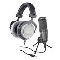 Audio-Technica AT2020USB+ Cardioid Condenser USB Micropho...