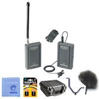 Audio-Technica PRO 88W-830 Camera Mount Wireless ENG Port...