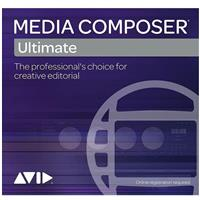 Avid Media Composer Ultimate Video Editing Software, 1-Ye...