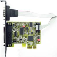 Axxon EPP/ECP Parallel Port + RS232 Serial PCI Express Co...