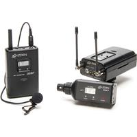 Azden 330LX UHF On-Camera Plug-in and Bodypack System, Co...