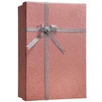 Barska Optics Gift Box Lock Box with Key Lock, Pink