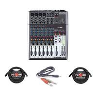 Behringer XENYX 1204USB Small Format Mixer with XENYX Mic...