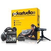 Behringer Professional PODCASTUDIO Bundle with USB/Audio ...