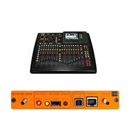 Behringer X32 Compact 40-Input 25-Bus Digital Mixing Console - Bundle With Cymatic Audio uTrack-X32 32-Channel Recorder,