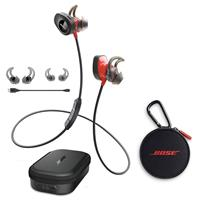SoundSport Pulse Wireless In-Ear Headphones, Red - With B...