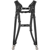 Black Rapid BlackRapid Double Slim Breathe Double Strap - 361004, Black