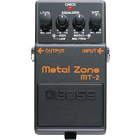 Boss International MT-2 Metal Zone Distortion Pedal (MT-2 Metal Zone Pedal)