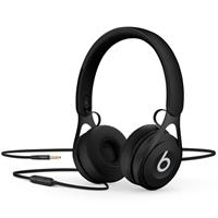 EP, On-Ear Headphones, Black - with Remote and Mic